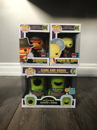 Simpsons Treehouse of Horror Exclusive Funko Pop set Pickering, L1X 2V3