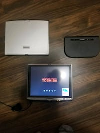 TWO! Toshiba tablet swivel laptops