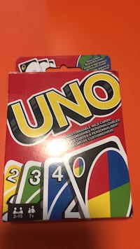Uno Game Card set