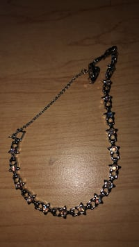 Silver chain link bracelet with stars Calgary, T2N 4V5