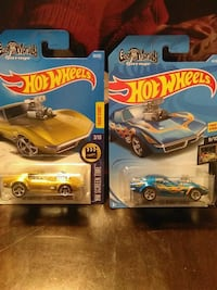 HOT WHEELS 68 CORVETTE GAS MONKEY DIECAST