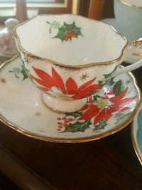 Queen Anne Bone China Teacup and Saucer Calgary, T2Y 2W5