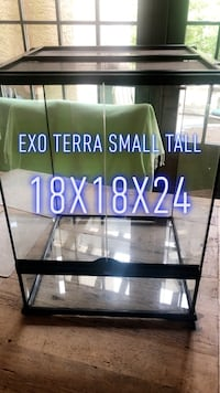 Exo Terra small tall reptile enclosure Chevy Chase, 20815