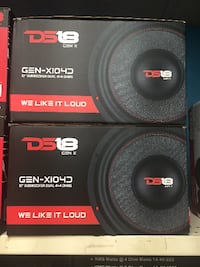 brand new pair of DS18 10s Tallahassee