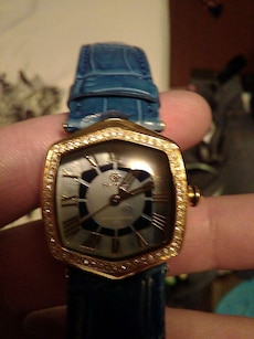 Womens Pastorelli genuine leatger watch