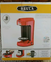 Red BELLA One Scoop One Cup Coffee Maker Green Mountain Falls, 80819