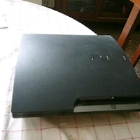 consola slim negra Sony PS3
