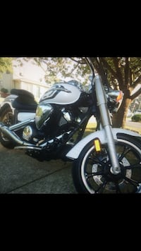 White and black chopper motorcycle Long Branch, 07740