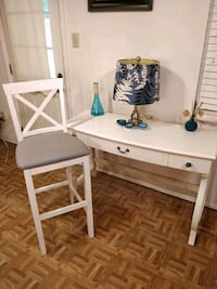 Solid wood pier 1 table with drawers and chair in  Annandale, 22003