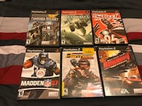 PlayStation 2 and DS games for sale. New York, 10007