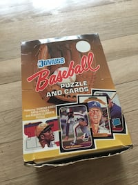 Unopened Box of 1987 Donruss Baseball Card Packs Springfield, 07081