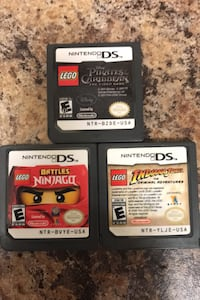 Nintendo DS games LEGO 3 games