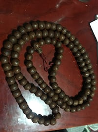 black and brown beaded necklace 3748 km