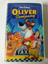 Oliver and Company vhs Baltimore