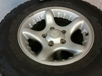 Used tires and rims 2001 Dodge 1500 Hagerstown, 21740
