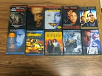 DVD LOT- 10 ACTION MOVIES Riverside