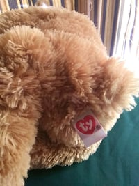 brown and white bear plush toy Winfield, 35594