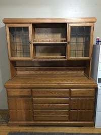 Solid wood Canadian made hutch  Oakville, L6L 1B6