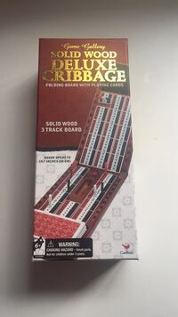 Cribbage board game unopened Laguna Hills, 92653