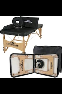 Massage Table and Carrying Bag With Wheels