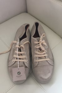 Gucci beige sneakers  biodegradable new never worn