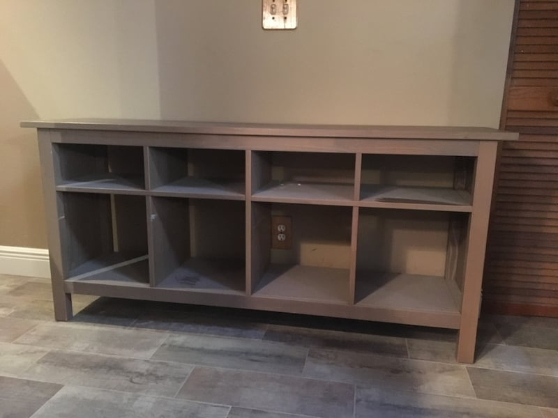 Used Ikea Hemnes Console Table With Cubbies For Sale In Hollywood