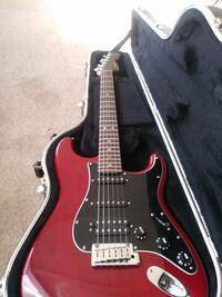 Fender American Special Mahogany HSS Stratocaster Electric Guitar(Crimson Red Transparent) Littlerock, 93543