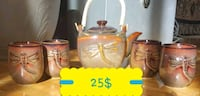 TEAPOT WITH 4 CUPS 25$ Ottawa, K1G