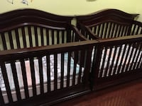 Baby Cache Heritage 4-1 Convertible Cribs Dark Cherry with Mattress Los Angeles, 91335