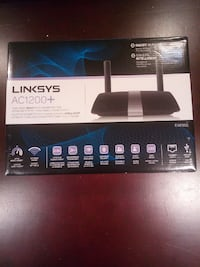 Linksys dual band smart Wi-fi router
