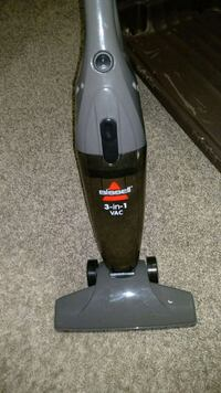 black and gray Bissell upright vacuum cleaner Edmonton, T5T