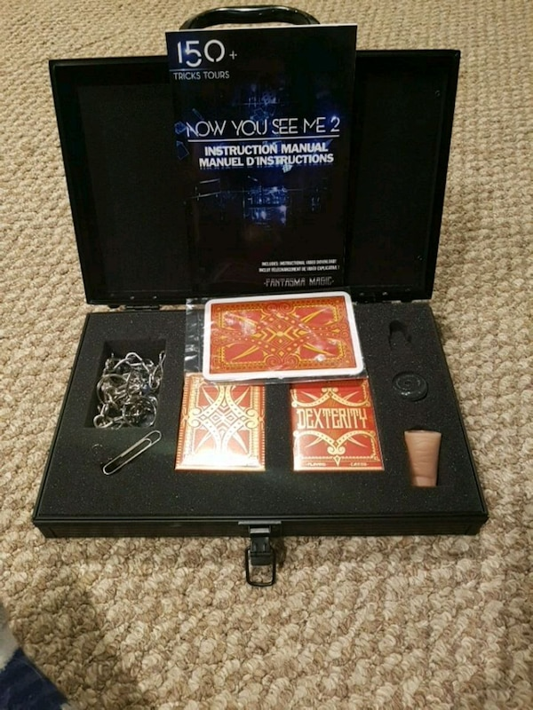 Now you see me 2 magic kit