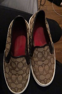 Authentic Coach Slip-On Sneakers