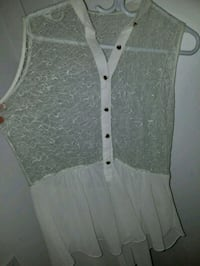 Lacey peplum top Montreal, H4G 2C5