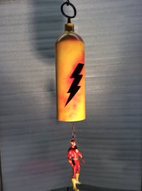 yellow and red The Flash hanging decor League City, 77573