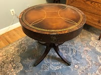 Round Ornamental Top Table BURKE