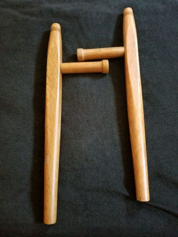 Wooden Tonfas (Martial Arts Weapons)