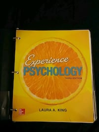Experience Psychology 3rd edition Textbook Anaheim, 92804