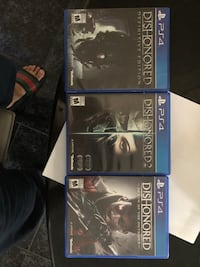 ps4 game dishonored bundle 沃恩, L6A 1X3