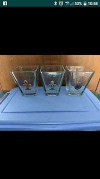 Set of three glass containers reduced Moncks Corner, 29461