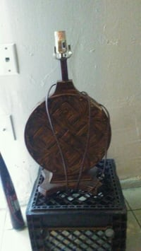 black and brown table lamp Houston, 77021