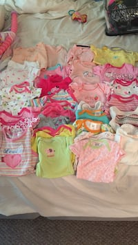 Size 3 to 6 months lot of  28 for $8