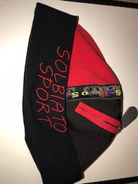SOLBIATO skull cap (w/ zipper) Red & Black Bethesda, 20817