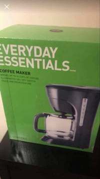 Coffee Machine - brand new, never opened. 3154 km