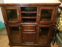 Wine and china cabinet dresser St. Louis, 63128