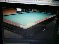 black and brown billiard table Lithonia, 30038