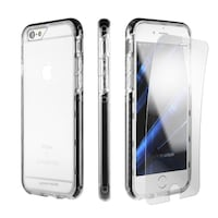 Case for iPhone 7plus Clear Black 2019 mi