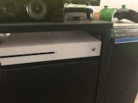White and black xbox one S Guelph, N1E 1E7