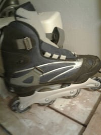 pair of gray-and-black inline skates Guelph, N1H 6J2