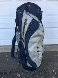 Top Flite Golf bag with kick stand